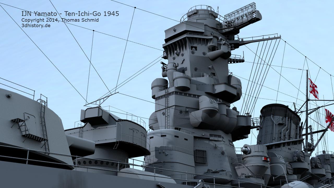 IJN Yamato Ten-Ichi-Go | 3DHISTORY DE