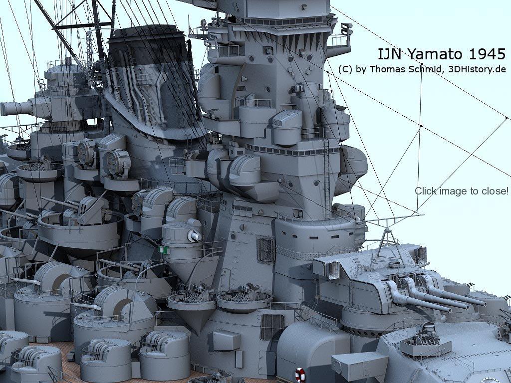 IJN Yamato | 3DHISTORY DE