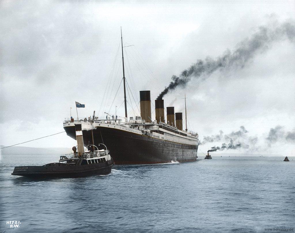 Titanic In Color 3dhistory De